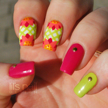 Spring 's Comming nail art by Lily-Jane Verezen