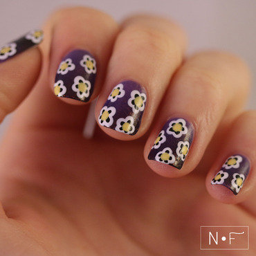 International Women's Day nail art by NerdyFleurty