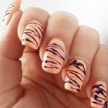 Spun Sugar nail art by Free_Spirit_Nail_Art