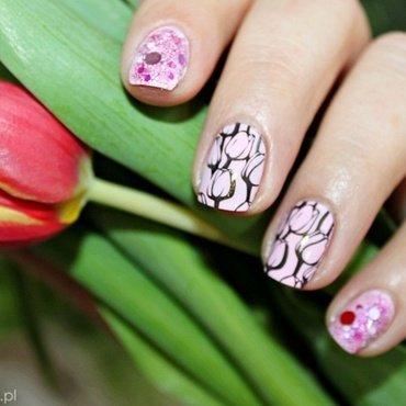 Women's Day! nail art by Amethyst