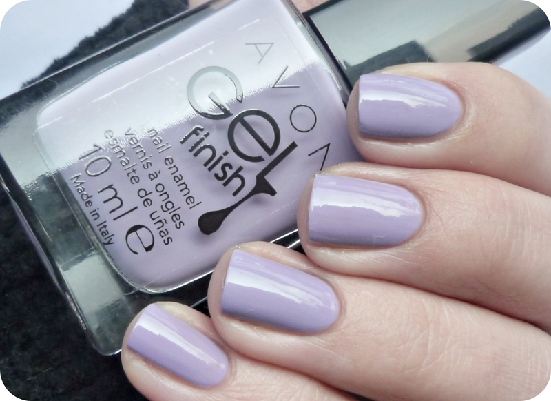 AVON Gel Finish - Lavender Sky Swatch by Romana