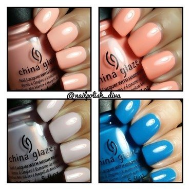 China Glaze License & Registration Pls Swatch by Marilyn