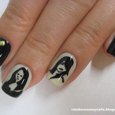 Women past&now nail art by specialle