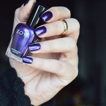 Zoya Belinda Swatch by And'gel ongulaire
