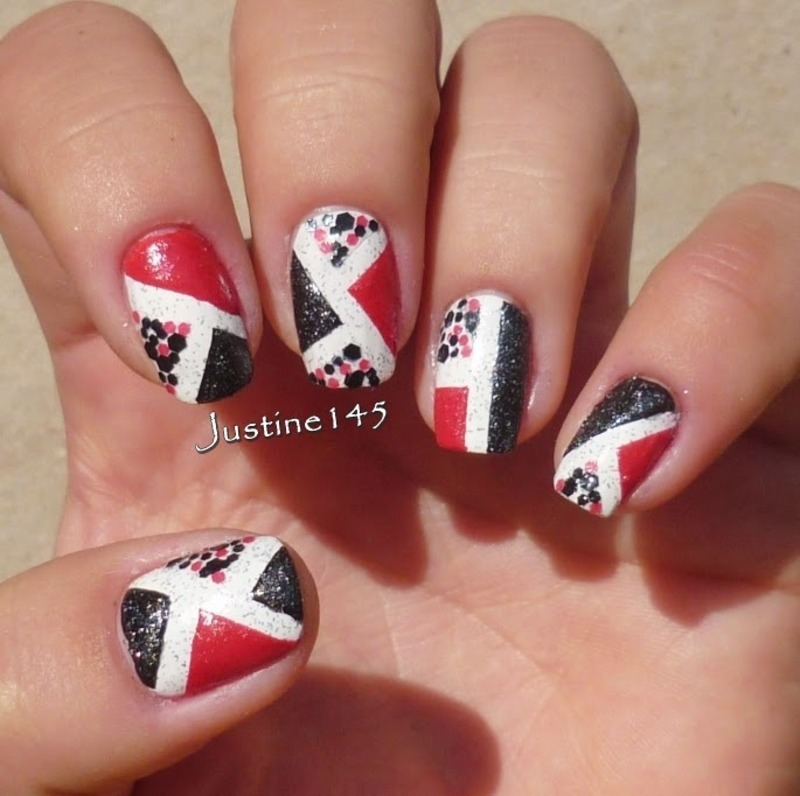 mix n match nail art by Justine145