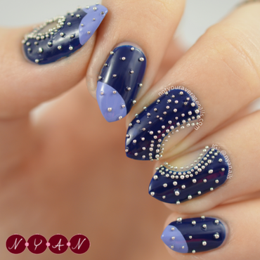 NAFW2015 Day One: Favourite Designer nail art by Becca (nyanails)