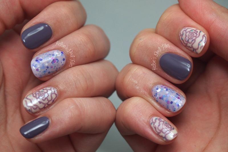 International Women's Day nail art by Kelsie