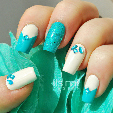 Atlantis Nails nail art by Lily-Jane Verezen