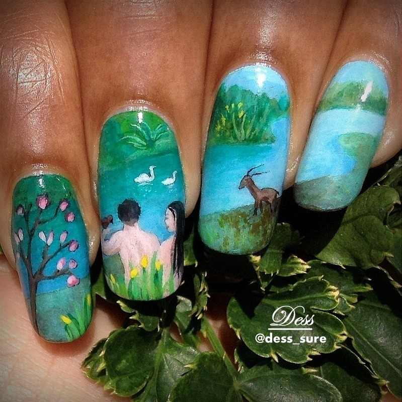 Eden nail art by Dess_sure