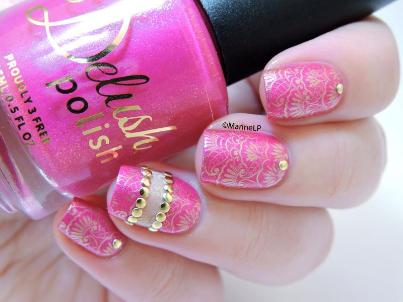 Bollywood nails nail art by marine loves polish nailpolis bollywood nails nail art by marine loves polish prinsesfo Choice Image