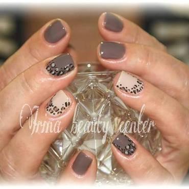 Cuccio Veneer nail art by Irina