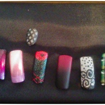 designs nail art by Jerel Dalrymple