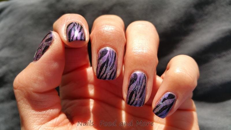 Stamping nail art by happymami2009