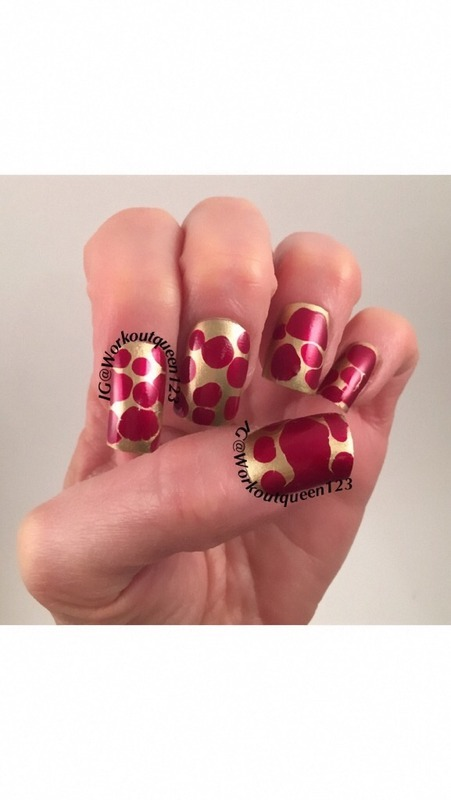 blobbicure nail art by Workoutqueen123