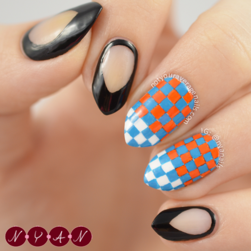 NAFW2015 Day Two: Shoes nail art by Becca (nyanails)