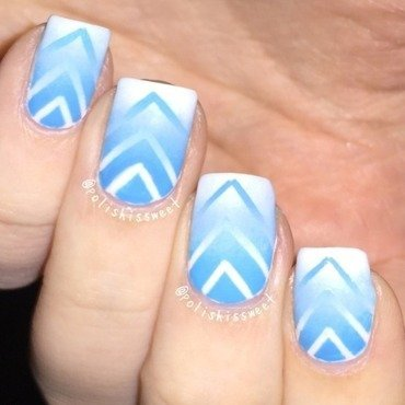 Reciprocal Gradient! nail art by PolishIsSweet