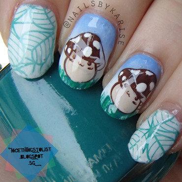 23glamnailschallenge mushroom nail art thumb370f