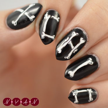 NAFW2015 Day Three: Bag nail art by Becca (nyanails)