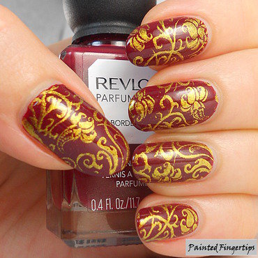 Ornate stamping thumb370f