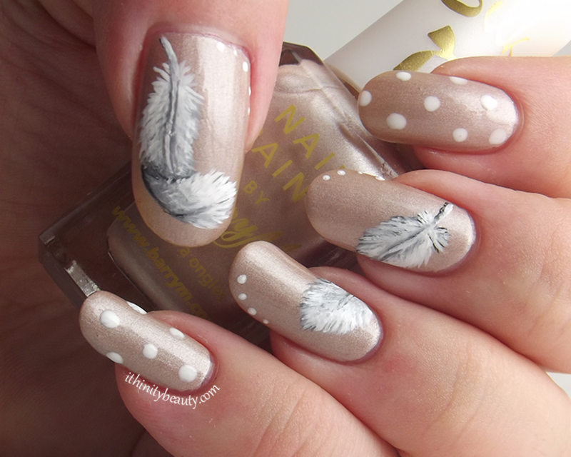 As Light As A Feather nail art by Ithfifi Williams