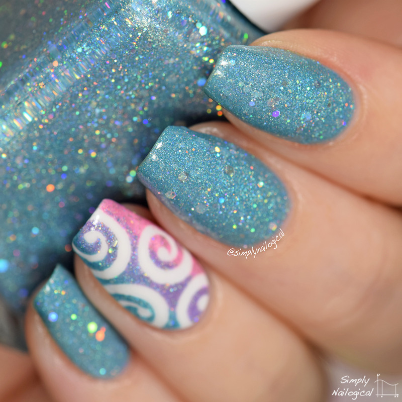 Glam Polish Illusion Swatch by simplynailogical