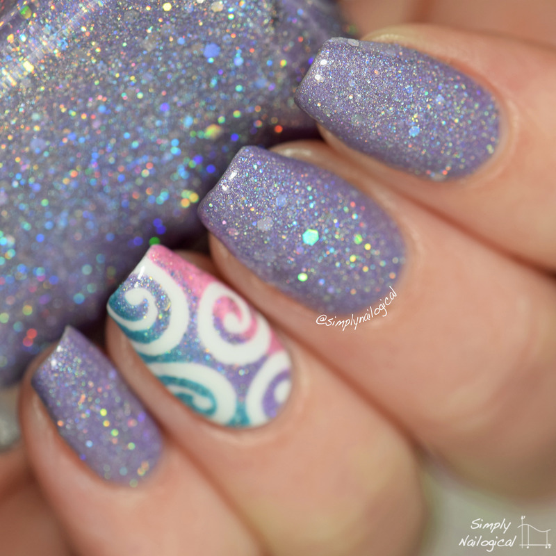 Glam Polish Mesmerize Swatch by simplynailogical