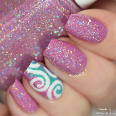 Glam Polish Charmed Swatch by simplynailogical