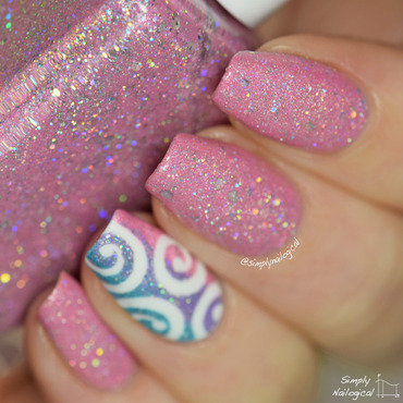 Glam Polish Enchanted Swatch by simplynailogical