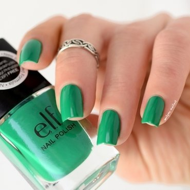 elf Teal Green Swatch by melyne nailart
