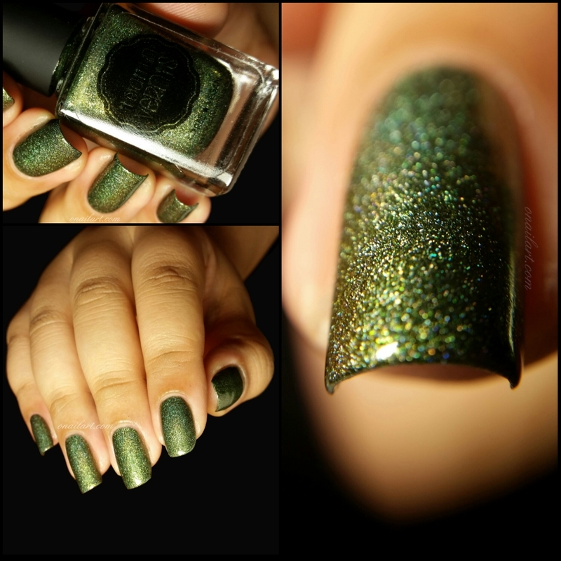 Il était un vernis we want you for NPA army Swatch by OnailArt
