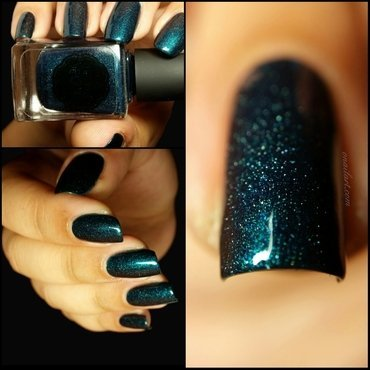 il etait un vernis In Teal We Trust Swatch by OnailArt