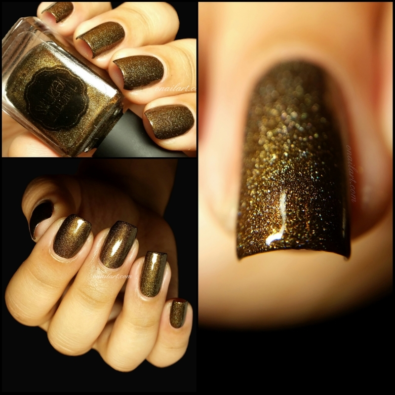 il etait un vernis drop dead gorgeous Swatch by OnailArt