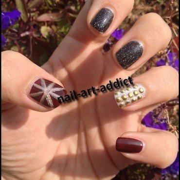 Un Joyeux Non Anniversaire à Jo nail art by SowNails