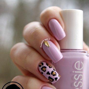 Studded nails. nail art by Paula215. NAILS