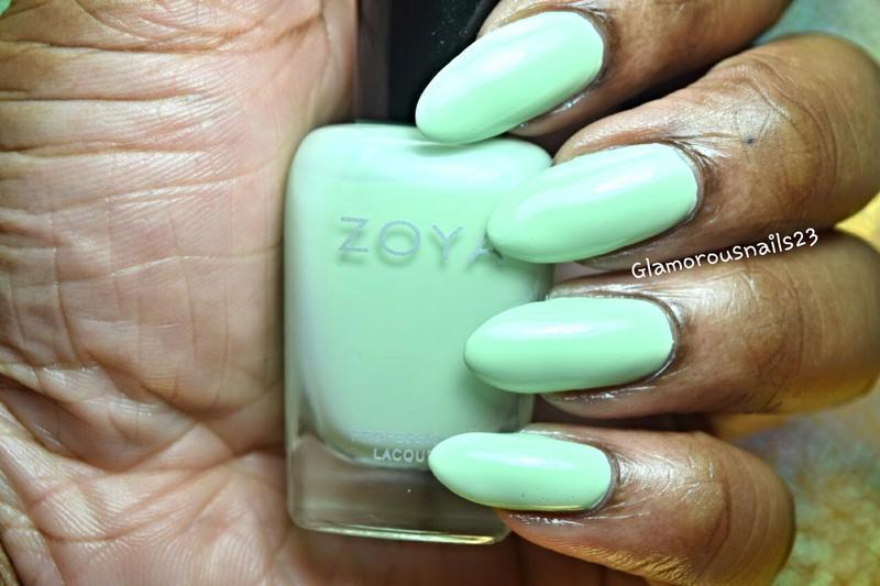 Zoya Tiana Swatch by glamorousnails23