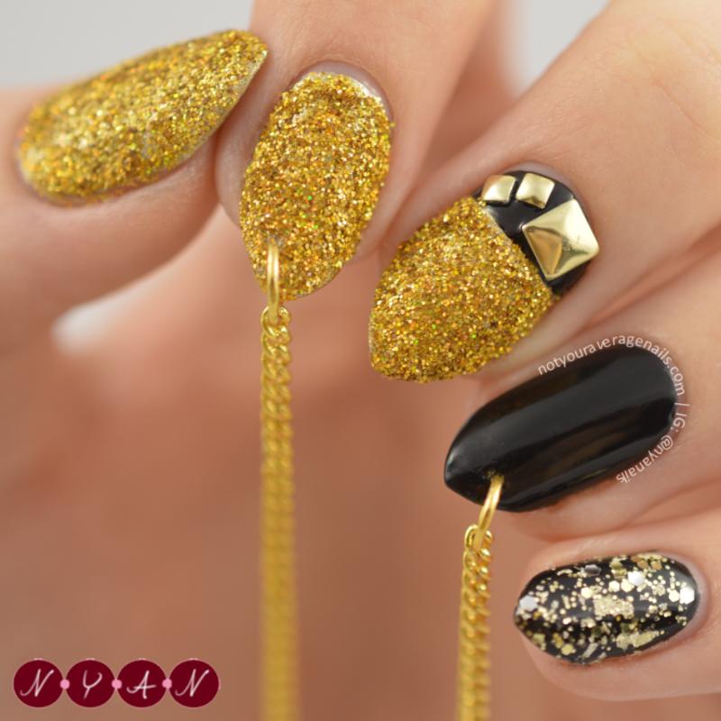 NAFW2015 Day Seven: Fall 2015 Runway Nail Art nail art by Becca (nyanails)