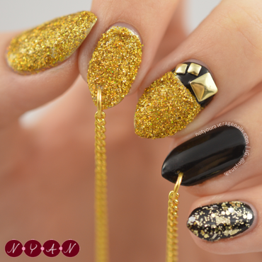NAFW2015 Day Seven: Fall 2015 Runway Nail Art nail art by Becca (nyanails)
