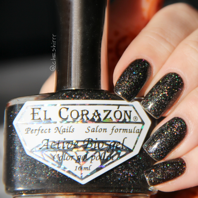 El Corazon Large Holo 423/508 Cosmos Swatch by cheshirrr