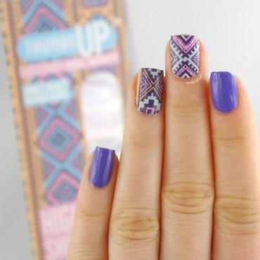 Tribal Nails nail art by Ann-Kristin