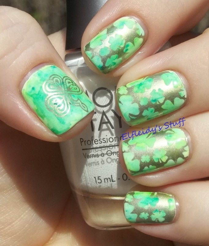 Stamping Sunday 3-15-2015 nail art by Jenette Maitland-Tomblin