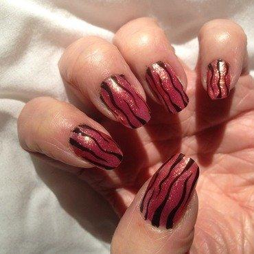 Shinny something nail art by Eleadora