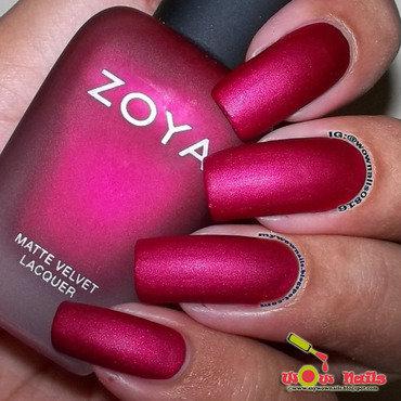 Zoya Posh Swatch by Paula of Wow Nails
