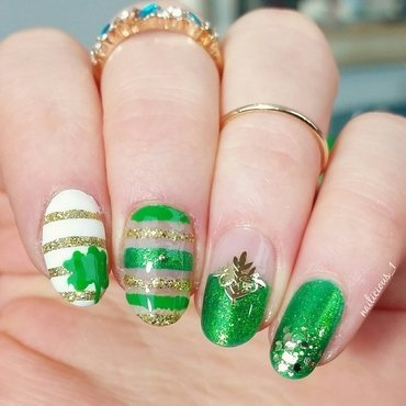 Saint Patrick's Day nail art by nailicious_1