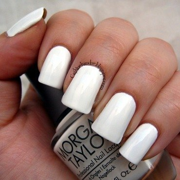 Morgan Taylor All White Now Swatch by Vedrana Brankovic