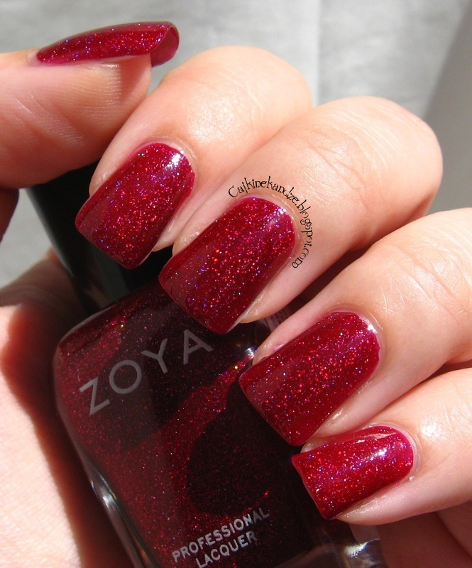 Zoya Blaze Swatch by Vedrana Brankovic
