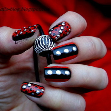 Rock nails nail art by Lucynails26