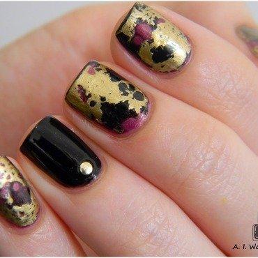 Baroque nails nail art by Yami