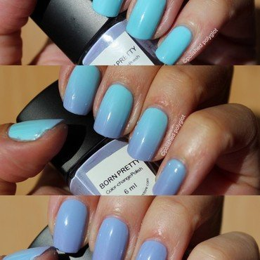 Born Pretty Color-change polish #103 Swatch by Polished Polyglot