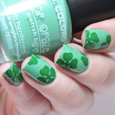 Shamrock st patricks day nails 20 2  thumb370f