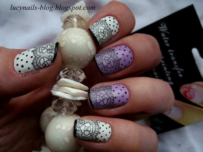 Water Decals bornpettystore  nail art by Lucynails26